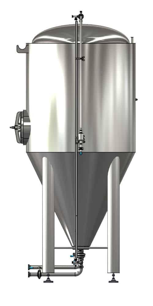 CCTM B2 002 1000x500 - CCTM-1200B2 Modular cylindrically-conical fermentation tank 1200/1473 L
