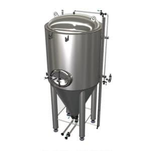 CCTM-500B2 Modułowy cylindryczno-stożkowy zbiornik fermentacyjny 500 / 600 L