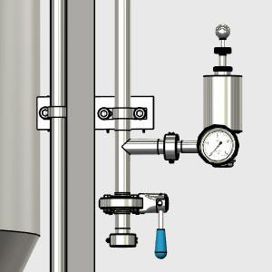 CCTM B2 010 300x300 - CCTM-1200B1 Modular cylindrically-conical fermentation tank 1200/1473 L - b1, b1sets