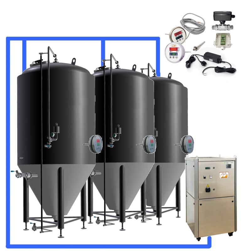 CFS complete fermenters sets - MODULO CLASSIC 250 : Wort brew machine – the brewhouse