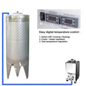 CFSCT1-1xCFT-SNP-200H Kompletní fermentační sada s 1x CFT-SNP 240 litrů