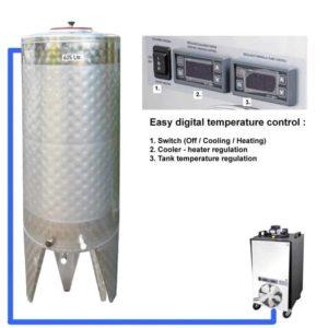 CFSCT1-1xCFT-SNP-500H Complete fermentation set with 1x CFT-SNP 625 liters