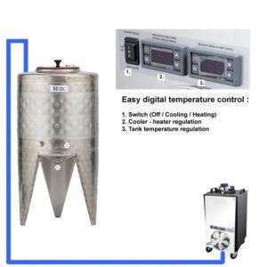 CFSCT1-1xCFT-SNP-50H Complete fermentation set with 1x CFT-SNP-50H