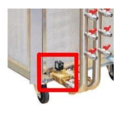 CWC-C3OFP Sada pro ochranu proti přetečení nádrže pro chladiče CWC-C 3Ph