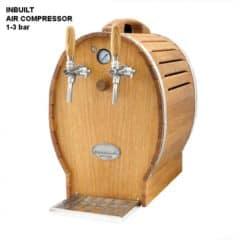 DBCS-BP52AC Barell Profi: Kompakti oluen jäähdytin / kompressorilla, 1 / 5 HP