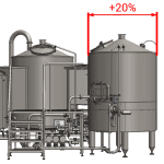 ELT enlarged lauter tun 600x600 150x150 - BREWORX QUADRANT 1000 : Wort brew machine - the brewhouse