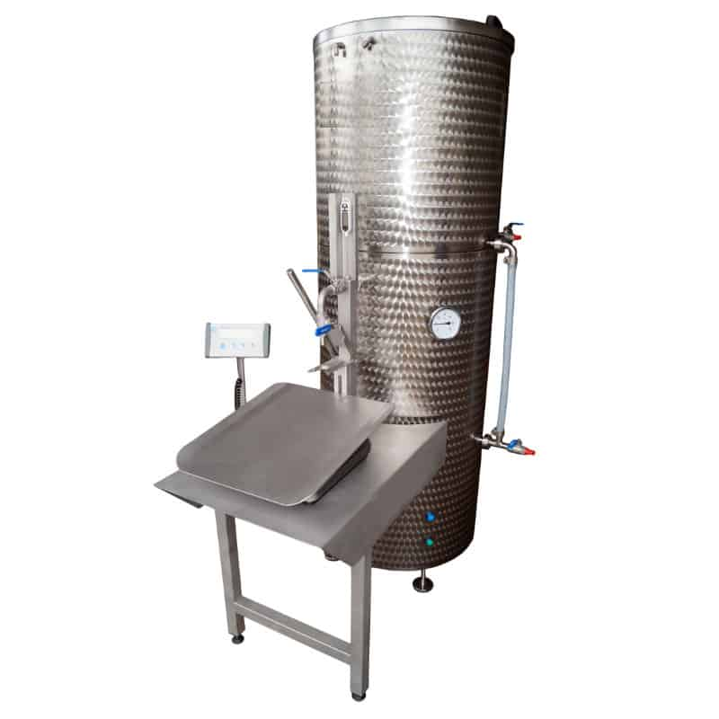 EPBBF 300MG 01 - EPBBF-300MG Electric pasteuriser and filling system of BAG-IN-BOX 300 liters/hr for non-carbonized beverages - bfp, pfl