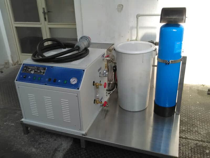 ESG 45 60 electric steam generator 01 - ESG-45MWT Electric steam-generator compact 45kg/hr