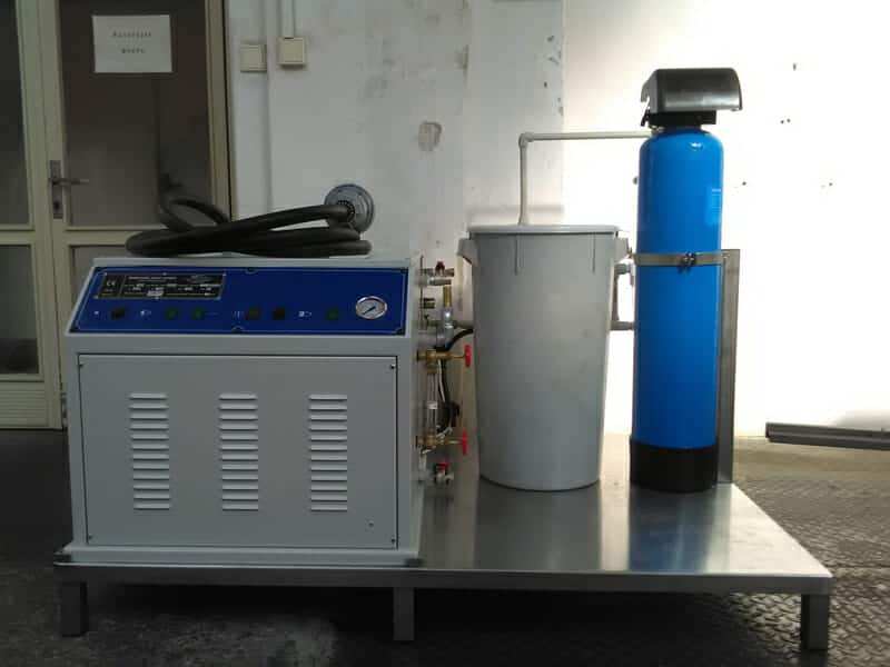 ESG 45 60 electric steam generator 03 - ESG-45MWT Electric steam-generator compact 45kg/hr