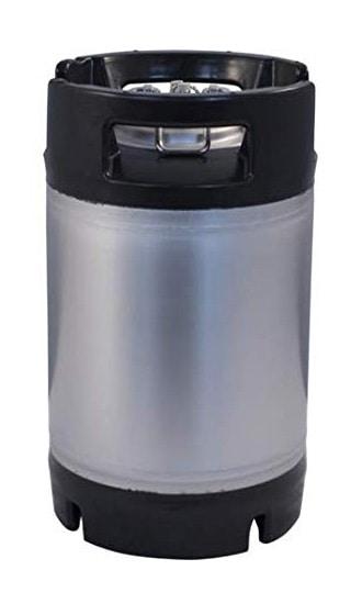 FKRV 09 05 - FKRV-09 Fermentation stainless steel keg with pressure relief valve 9.5 liters 9 bar
