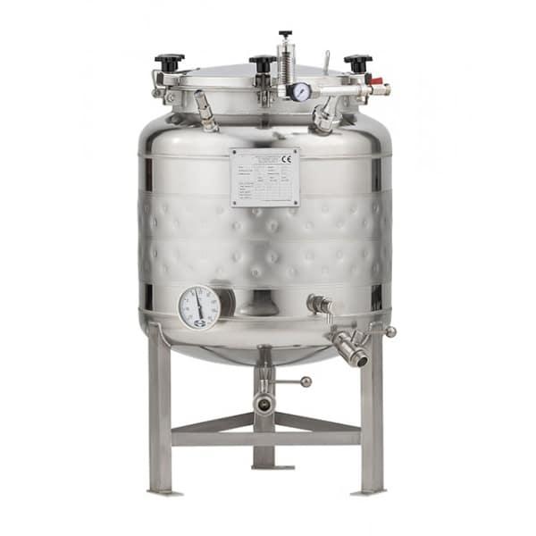 FMT SLP 100H 600x600 - CFSCT1-4xFMT100SLP : Complete fermentation set with 4xFMT-SLP 120 liters