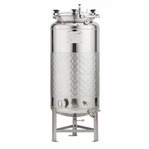 FMT-SLP-200H Round-bottom fermenter, non-insulated, cooled by liquid, 200/240 liters 1.2 bar
