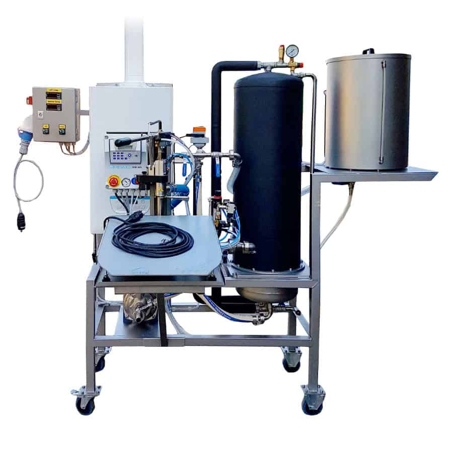 FPBIBF 300MG 01 - GPBBF-500MG Gas pasteuriser and filling system of BAG-IN-BOX 500 liters/hr for non-carbonized beverages - bfp, pfl