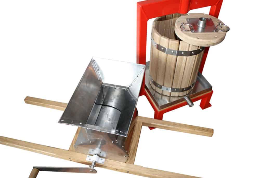 FRCR 100M fruit crusher 02 - FRCR-100M Fruit crusher 100 kg/hour manual