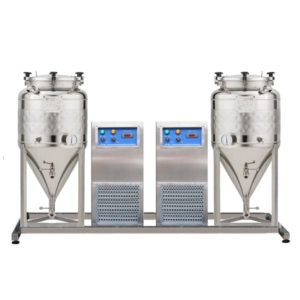 FUIC with non-insulated fermenters 0.0 bar