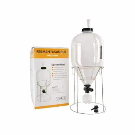 PCF-35SK : Fermentasaurus 35L starter kit : PET conical fermenter tank 35  liters 2 4 bar