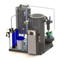 GSG-1000VPS Gas steam-generator 1000kg/hr – vertical package system