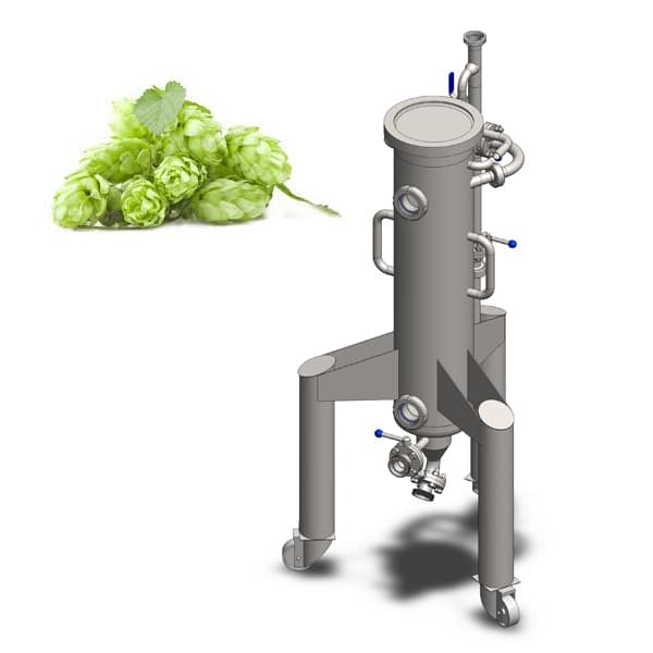 Hopgun 25 600x600 - CCTM-1500A2 Modular cylindrically-conical fermentation tank 1500/1865 L - a2, a2sets