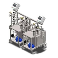 KCA-50 masin kangide automaatseks loputamiseks ja täitmiseks 20-50 kegs / tund