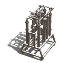 MFCS-1000-mikrofiltreringsstation 1000 L / h