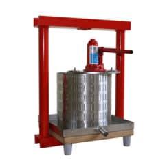 MHP-12S Handmatig hydraulisch fruitpers 12 liter roestvrij staal