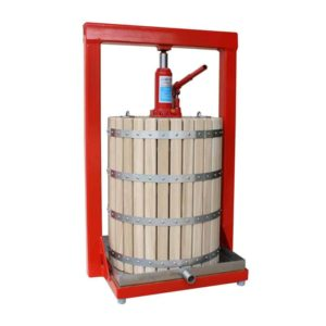 MHP-50W Manual hydraulic fruit press 50 liters – wood version