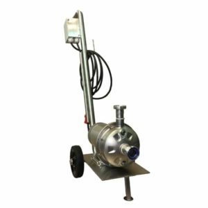 MP-90 : Mobile centrifugal pump 900W, Stainless steel