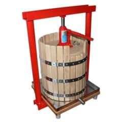 MHP-30W Handmatig hydraulisch fruitpers 30 liter hout