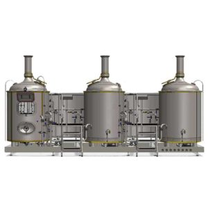 MODULO CLASSIC 3T-500 : Wort brew machine – the special brewhouse