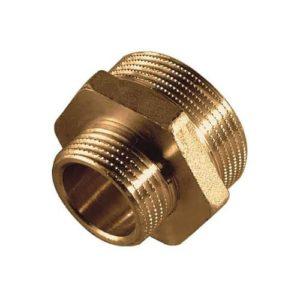 PF-PR10M12M-BR Pipe Reducer G 1″M to G 1/2″M Brass