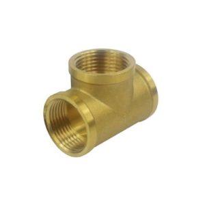 PF-T3012GF-BR Pipe Fitting T-hub 3xG1/2″F Brass