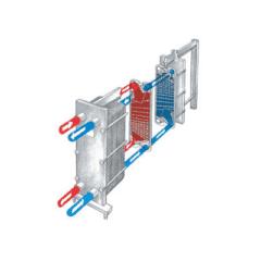 PHE-GLP-500L9025 Plate-soojusvaheti 500 lt / tund