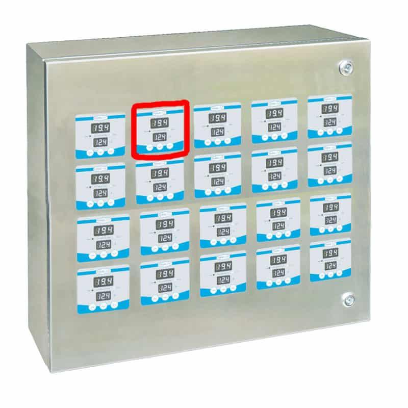 STTC FC150A 800x800 02 - STTC-FC150A Vieno rezervuaro temperatūros reguliatorius FermContCard, skirtas CTTCS-A spintoms