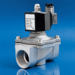 STTC-SV50-24VS Solenoid valve DN50 24VAC, Stainless steel