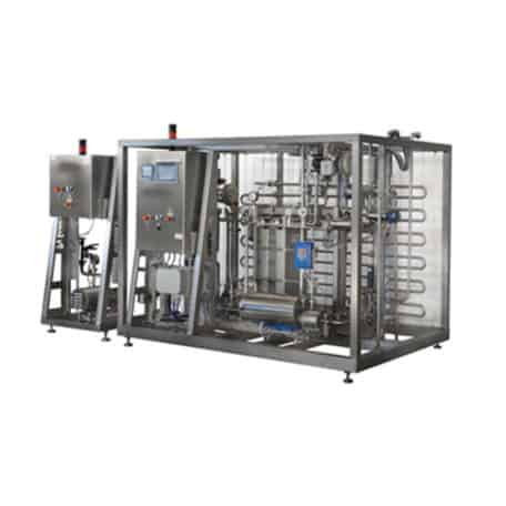 BFP-1500/3000 flow pasteurizer for beer