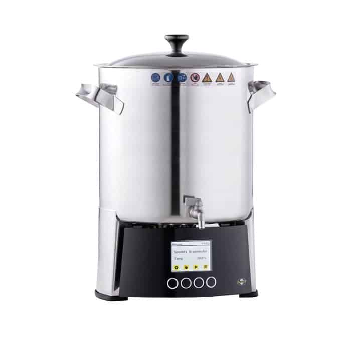 bm 10 brewhouse - BREWMASTER BM-10 Compact wort brew machine - the 11L brewhouse