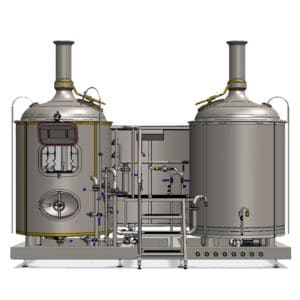 brewhouse breworx modulo classic 500SD 002 300x300 - BREWORX MODULO CLASSIC : Wort brewing machines and breweries
