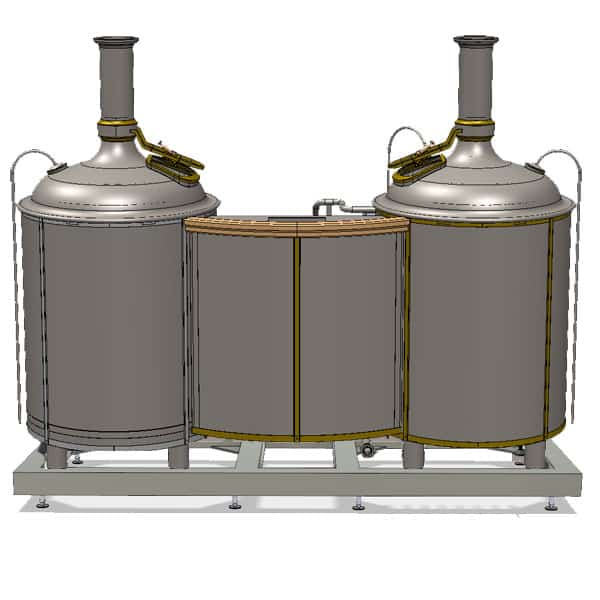 brewhouse modulo classic 500 02 1 - MODULO LITE-ME 500 : Wort brew machine - the brewhouse