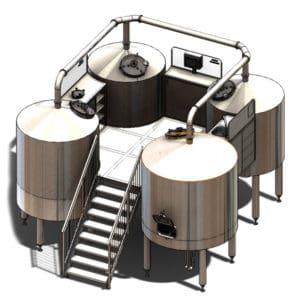 BWM-BQD - Wort brew machines QUADRANT