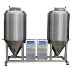 FUIC-CHP2C-2x1000CCT Compact fermentation unit 2×1000/1200 liters