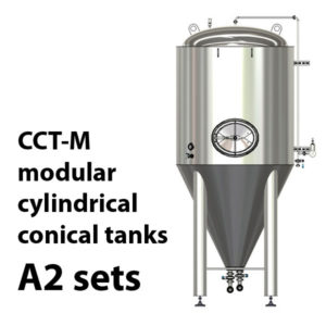 CCT-M modular cylindrically-conical tanks A2 sets