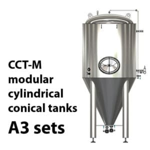 CCT-M modular cylindrically-conical tanks A3 sets