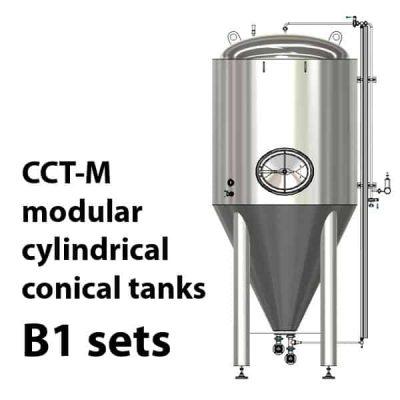 CCT-M modulární cylindricko-kónické nádrže B1