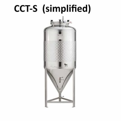 CCT-S Simplified cylindrically-conical tanks