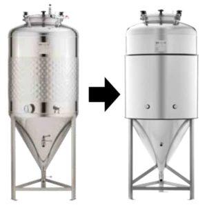 TIJ-CT-200DE Insulation jacket for CCT-SLP/SHP-200DE fermentation tank