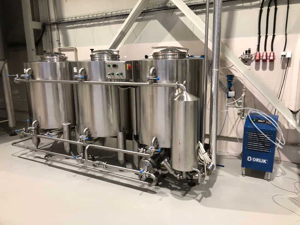 CIP-503 Cleaning-In-Place machine for media-size breweries and other food processing lines