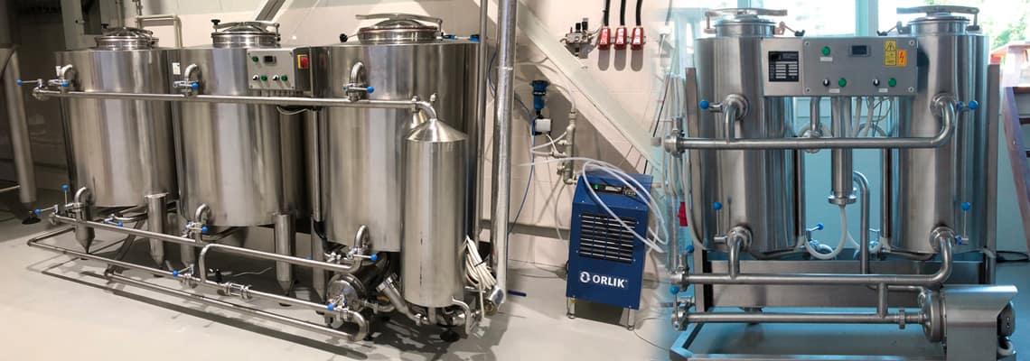 CIP - čistiace a dezinfekčné stroje