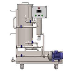 CIP-51 Очистка и дезинфекция станции 1 × 50 литров