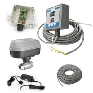 TTMMCS1-16A Vietinė bako temperatūros rankinė matavimo ir valdymo sistema 16 vienetų aušinimo zonos fermentatorių vnt.