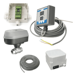 TTMMCS1-2AS Local tank temperature manual measuring & control system for 2 pcs of single cooling zone fermenters